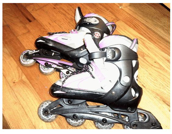 Figure 3 - Photograph of roller skates representing importance of choice and autonomy